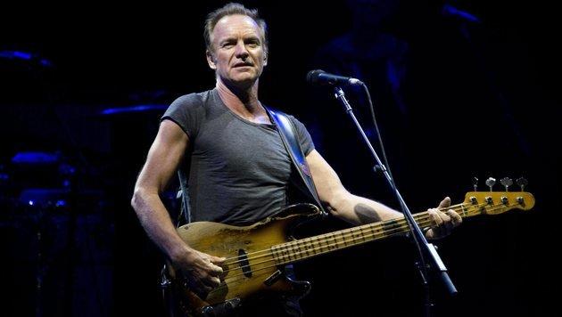 Sting veröffentlicht erste Single als Download (Bild: EPA/Vincenzo Pagliarulo)