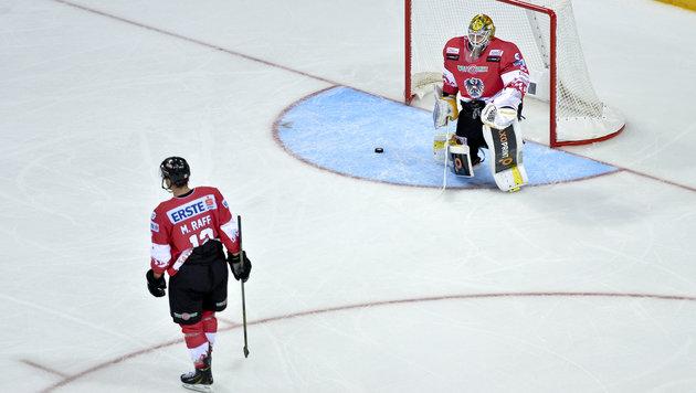 Eishockey-Schande! �sterreich erleidet 1:8-Debakel (Bild: APA/HERBERT NEUBAUER)