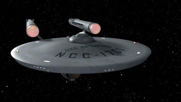 Die U.S.S. Enterprise (Bild: CBS Photo Archive)