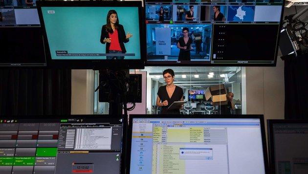 Neuer Nachrichtensender in Frankreich gestartet (Bild: APA/AFP/LIONEL BONAVENTURE)
