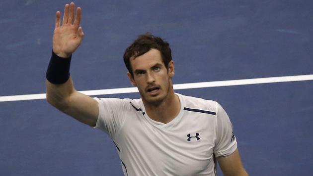 Lärm bei Regen: Murray klagt über Dach bei US Open (Bild: AP)