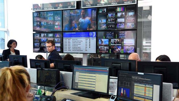 Neuer Nachrichtensender in Frankreich gestartet (Bild: APA/AFP/BERTRAND GUAY)
