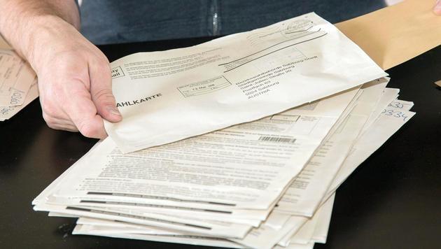 Präsidentenwahl: Fehlerhafte Wahlkarte zugestellt (Bild: APA/NEUMAYR/MMV)