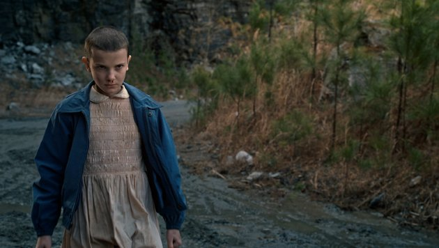 """Millie Bobby Brown als Eleven in """"Stranger Things"""" (Bild: Netflix)"""