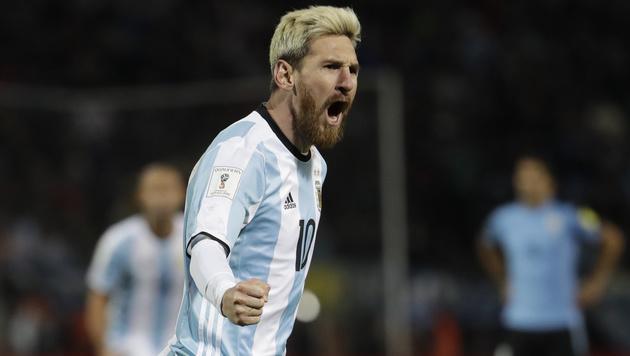 Traum-Comeback von Lionel Messi im Nationalteam (Bild: AP)