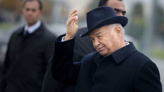 Präsident Karimow dürfte an den Folgen eines Schlaganfalls verstorben sein. (Bild: APA/AFP/POOL/BRENDAN SMIALOWSKI)