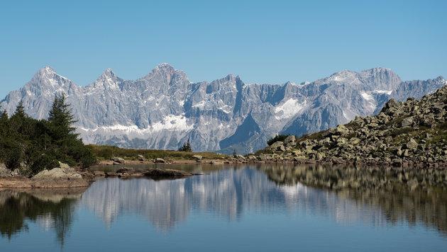 Spiegelsee auf der Reiteralm (Bild: Florian Pogats)