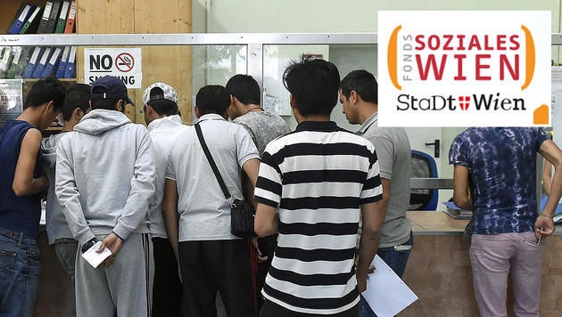 Wien: 120.000 Menschen brauchten finanzielle Hilfe (Bild: APA/HELMUT FOHRINGER (Symbolbild), FSW)