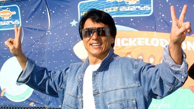 Jackie Chan erhält Oscar für sein Lebenswerk (Bild: APA/AFP/FREDERIC BROWN/picturedesk.com)