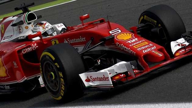 Hamilton dominiert in Monza ++ Ferrari verbessert (Bild: APA/AFP/GABRIEL BOUYS)