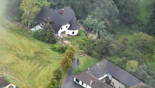 Das Anwesen von Alois Huber hat mittlerweile einen neuen Besitzer. (Bild: Paul Plutsch)