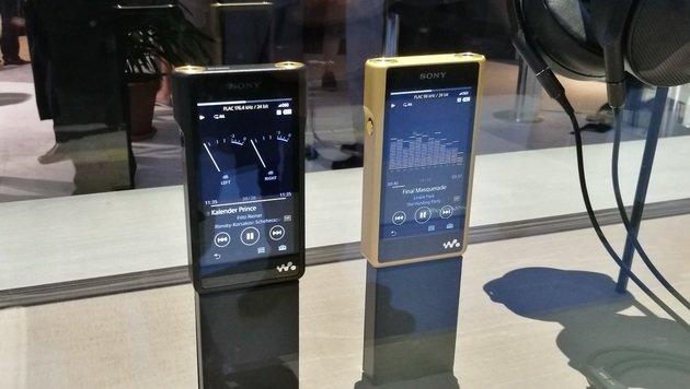 Laternen-Speaker & Luxus-Walkman: Sony auf der IFA (Bild: Dominik Erlinger)