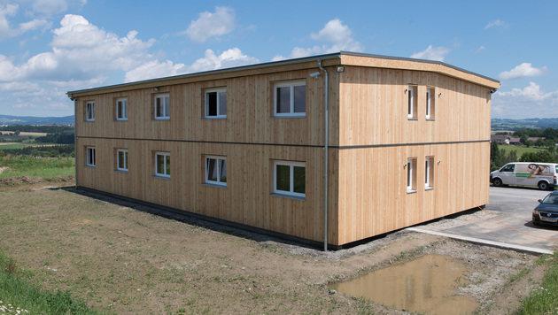 Das Asylheim in Altenfelden wurde wieder aufgebaut. (Bild: APA/FOTOKERSCHI.AT)