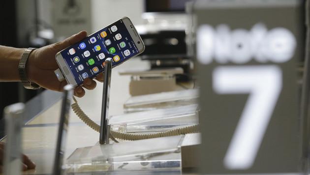 Galaxy Note 7: Austausch startet nun in Österreich (Bild: AP)