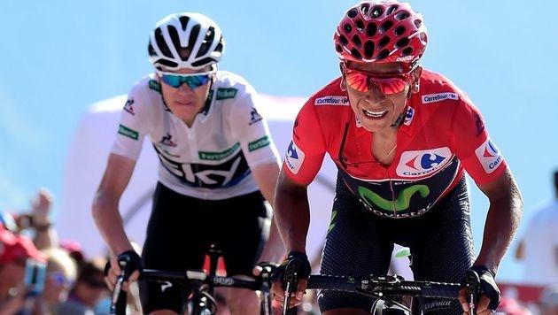Quintana nach Königsetappe weiter Spitzenreiter (Bild: AFP)