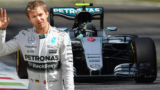 Singapur: Rosberg nach Crash Schnellster (Bild: APA/AFP/GIUSEPPE CACACE)
