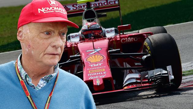 Ferrari verpasst Ziele - Lauda kritisiert Ex-Team (Bild: APA/AFP/GIUSEPPE CACACE)
