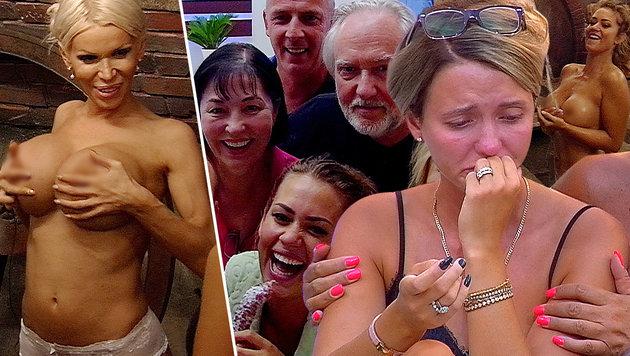 """Cathy Lugners Tränen bei """"Promi Big Brother"""" sorgten für spektakuläre Schlagzeilen. (Bild: SAT.1)"""