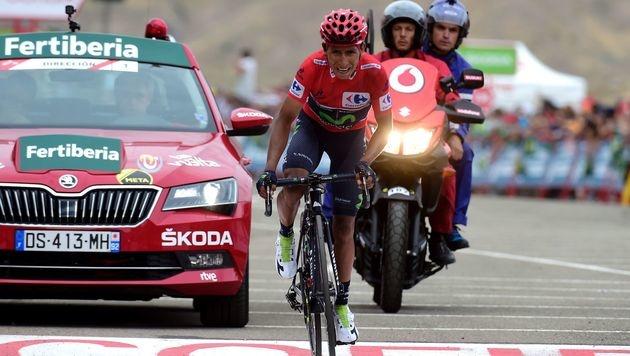 Quintana düpiert Froome auf 15. Vuelta-Etappe (Bild: AFP)