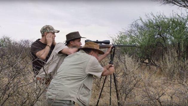 """Ausschnitt aus Ulrich Seidls """"Safari"""" (Bild: YouTube.com)"""