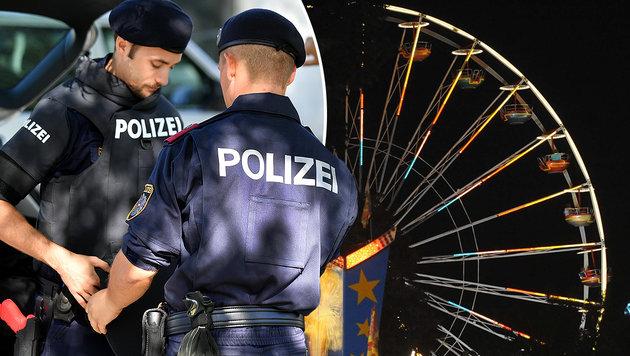 """Volksfest-Übergriffe: Verdächtige ausgeforscht (Bild: APA/Barbara Gindl, """"Krone""""-Archiv)"""