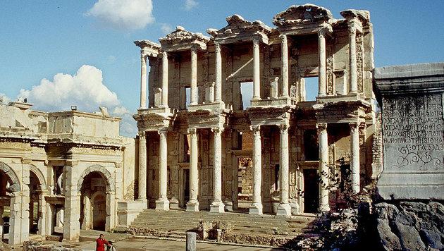 Ausgrabungsstätte in Ephesos (Bild: APA)
