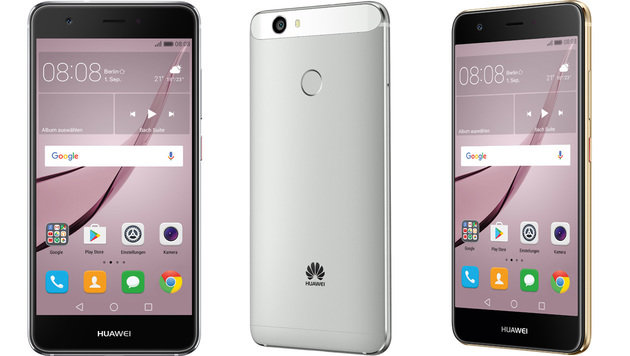 Huawei Nova: Selfie-Handy mit Mittelklasse-Chip (Bild: Huawei)
