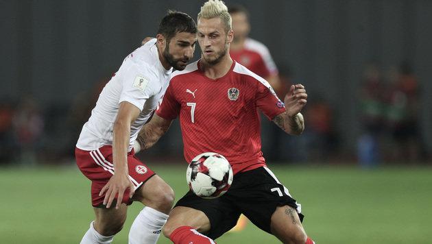Österreicher starten mit 2:1-Sieg in die WM-Quali! (Bild: GEPA)