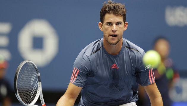 US Open: Dominic Thiem gibt im Achtelfinale auf (Bild: AP)