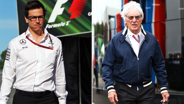 Formel 1: Wolff möglicher Ecclestone-Nachfolger? (Bild: GEPA)