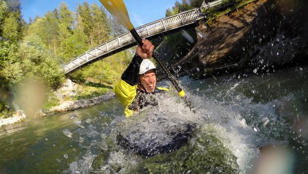"""Hirscher """"geht fremd""""! Ski-Star beim Dolomitenmann (Bild: APA/RED BULL CONTENT POOL/ILLEK)"""