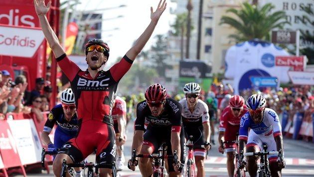Jean-Pierre Drucker gewinnt 16. Vuelta-Etappe (Bild: AFP)
