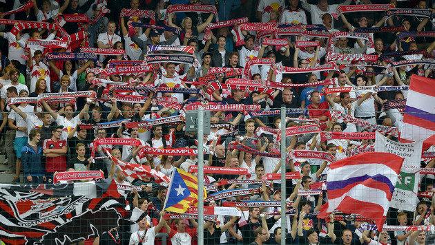 """""""Lachnummer im Klubfußball"""" - Salzburg-Fans toben (Bild: GEPA)"""