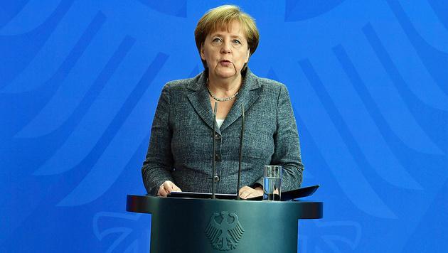 """Merkel: """"Bin natürlich auch verantwortlich"""" (Bild: AFP)"""