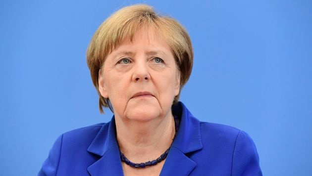 Pressefreiheit: Merkel übt harte Kritik an Erdogan (Bild: AFP)