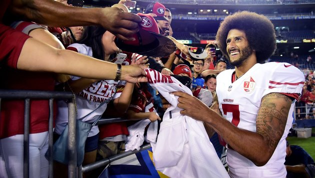 Colin Kaepernick (Bild: APA/AFP/GETTY IMAGES/Harry How)