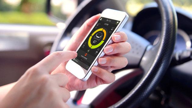 """TomTom Curfer: """"Fitness-Tracker"""" für das Auto (Bild: TomTom)"""