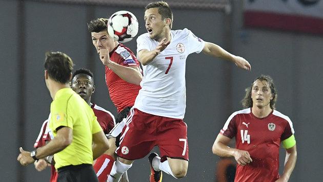 Österreicher starten mit 2:1-Sieg in die WM-Quali! (Bild: APA/ROBERT JAEGER)