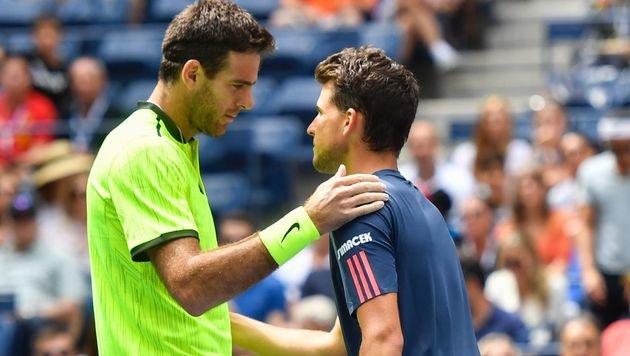 US Open: Dominic Thiem gibt im Achtelfinale auf (Bild: AFP)