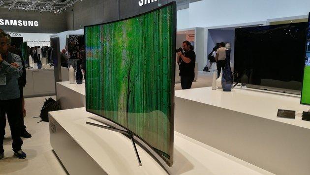 Superscharfe OLED-Pracht: TV-Trends auf der IFA (Bild: Dominik Erlinger)