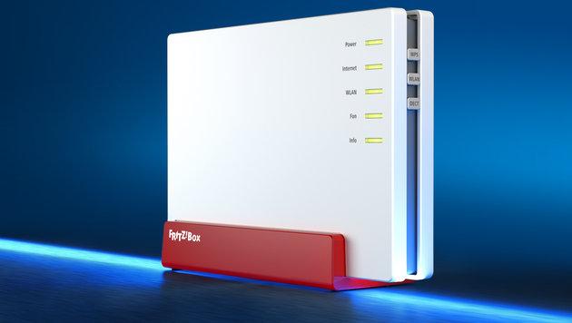 AVM spendiert Top-Fritzbox radikales Design-Update (Bild: AVM)