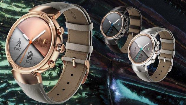 Asus Zenwatch 3: Runde Android-Uhr für 230 Euro (Bild: Asus, flickr.com/usgsbiml)
