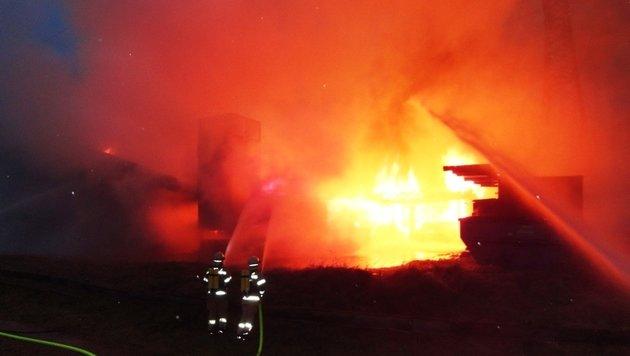 Heiße Metallteilchen führten zu Tischlerei-Brand (Bild: FF-Kaprun)