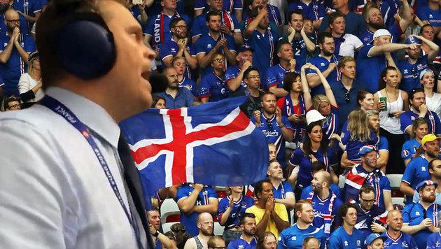 Island-Kommentator muss sich auf Jobsuche begeben (Bild: GEPA, twitter.com)