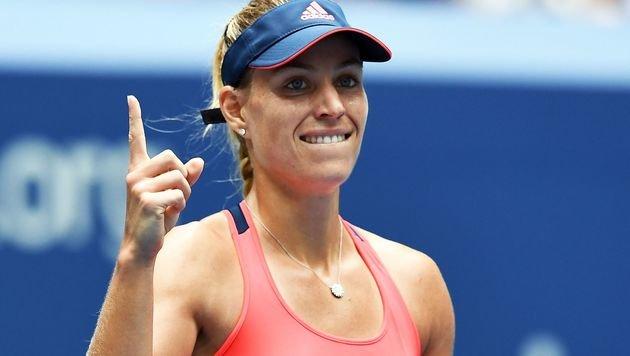 Kerber nach Sieg über Vinci im US-Open-Halbfinale (Bild: AFP)