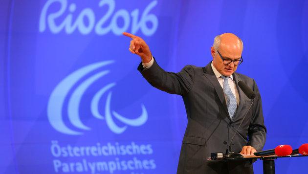 Paralympics-Team in Rio willkommen geheißen (Bild: GEPA)