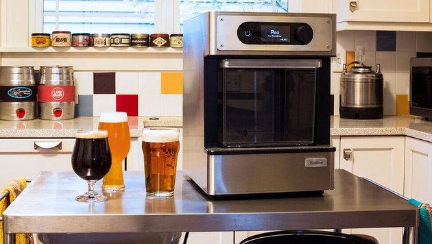 """PicoBrew: Start-up zeigt """"Nespresso für Bier"""" (Bild: PicoBrew)"""
