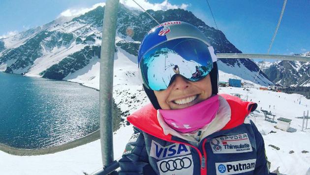 Sportfotos: Dieses US-Skigirl zieht blank! (Bild: instagram.com/Lindsey Vonn)