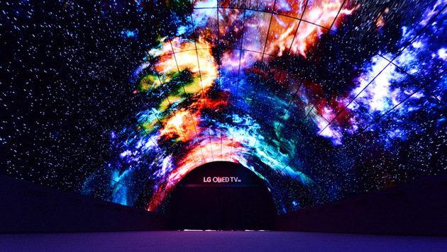 Superscharfe OLED-Pracht: TV-Trends auf der IFA (Bild: LG)