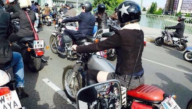"""""""Top 6: Die schönsten Biker-Girls der City! (Bild: zet)"""""""